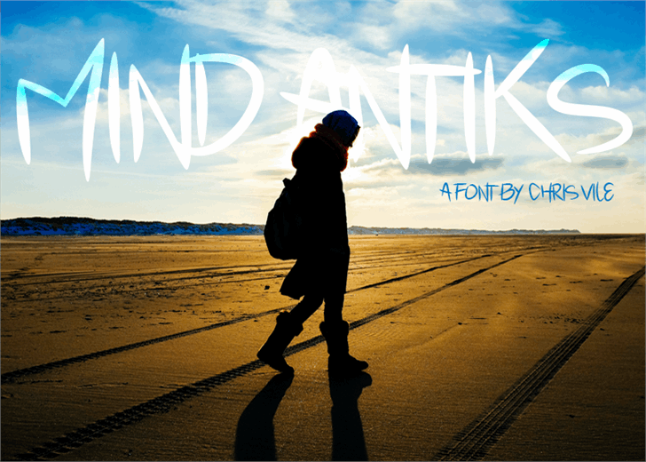 Image for Mind Antiks font