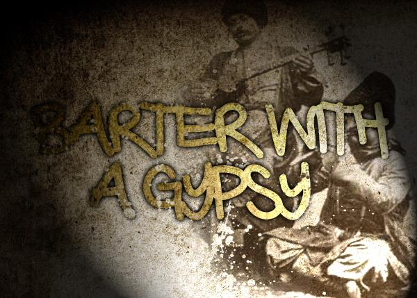 Image for Barter with a Gypsy font