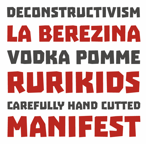 Image for Troika font