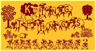 Image for Kingthings Sheepishly font