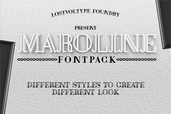 Image for Maroline font