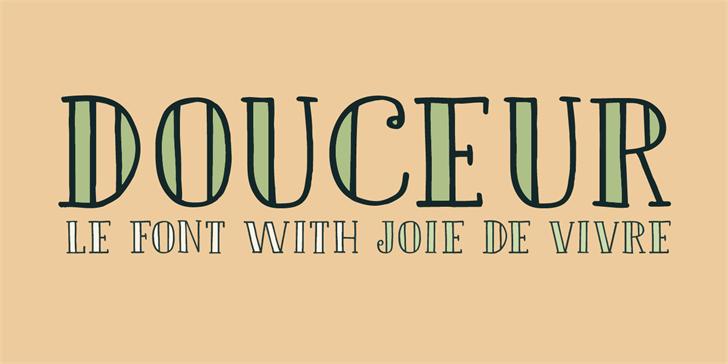 Image for DK Douceur font