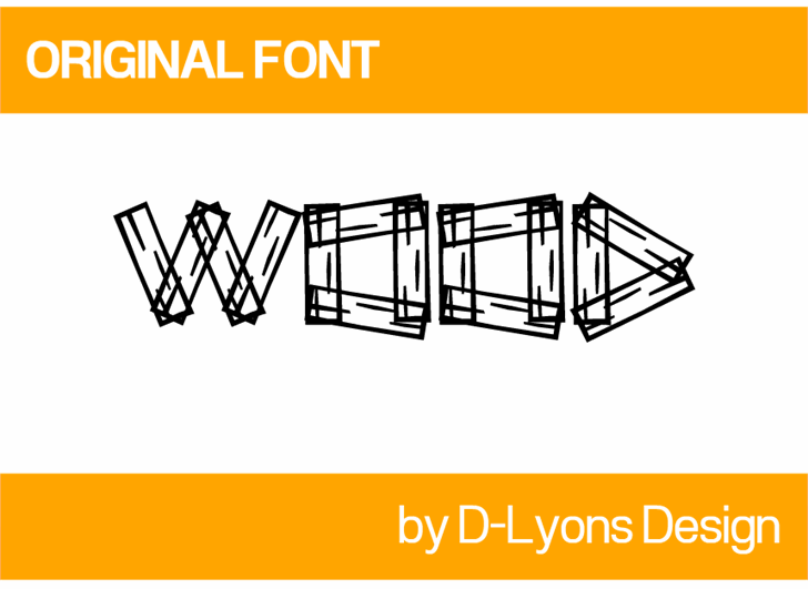 Image for Wood font
