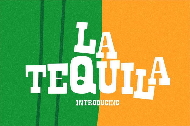 Image for La Tequila font