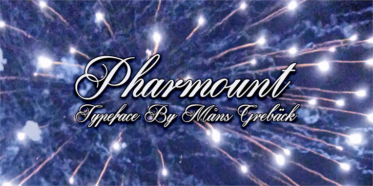 Pharmount Personal Use Only font by Måns Grebäck