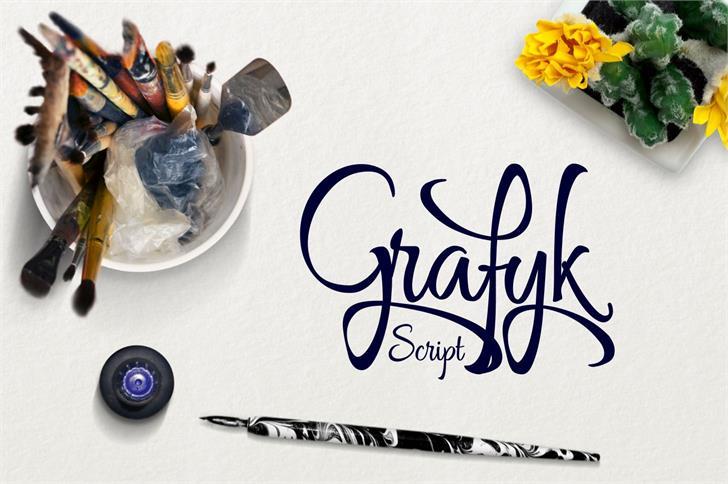Image for Grafyk font