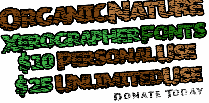 Image for OrganicNature font