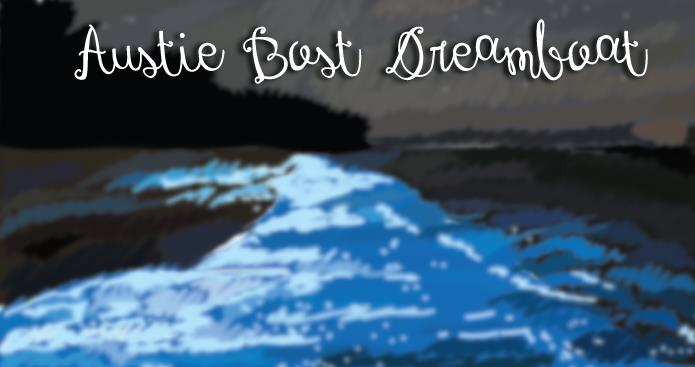 Image for Austie Bost Dreamboat font