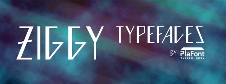 Ziggy font by andriansyahmk