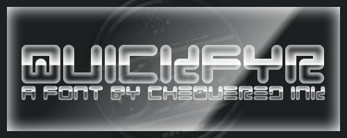 Image for Quickfyr font
