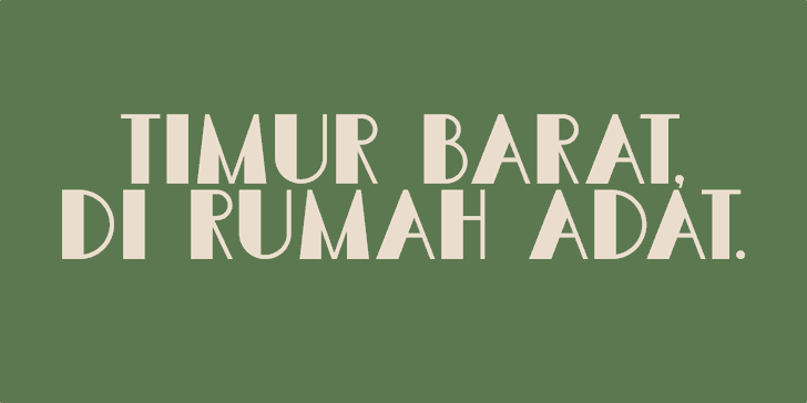 Image for DK Semarang Kolonial font