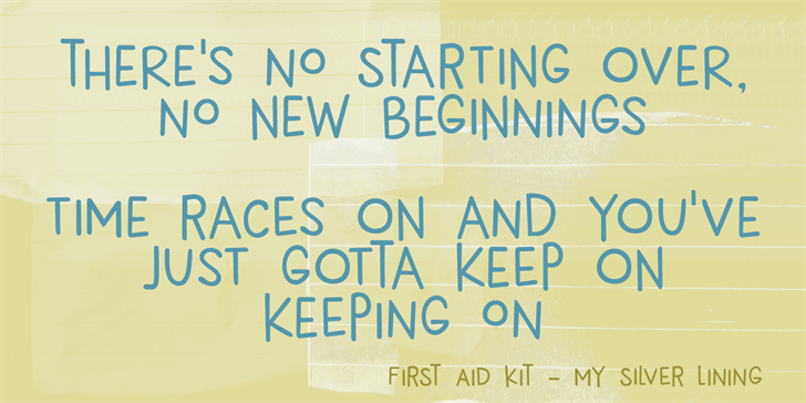 Image for DK New Beginnings font