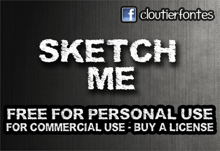 Image for SketchMe font