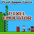Pixel Emulator font by Pixel Sagas