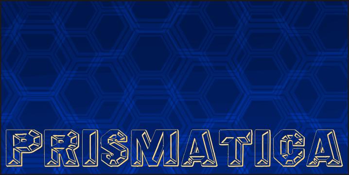 Image for Prismatica font