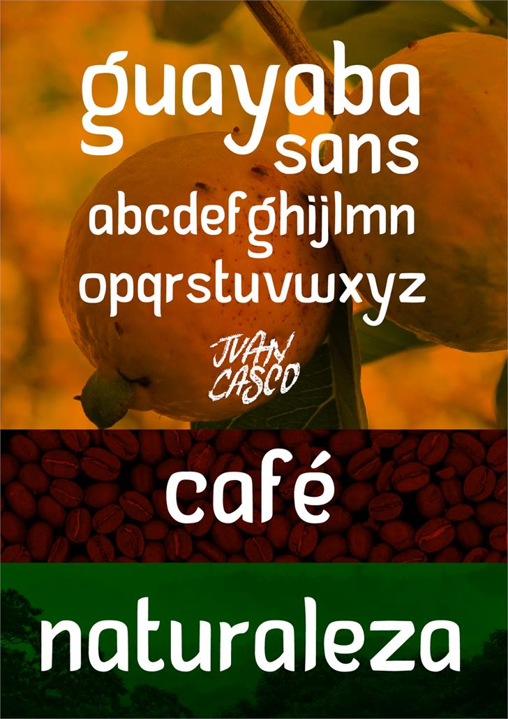 Image for Guayaba Sans - personal use font