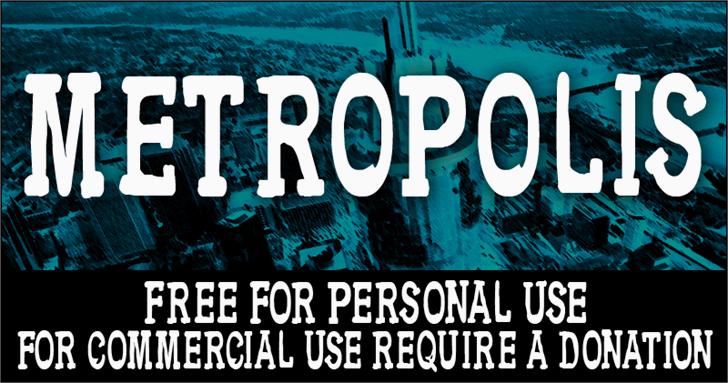 Image for CF Metropolis Serif font