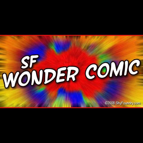 Image for SF Wonder Comic font