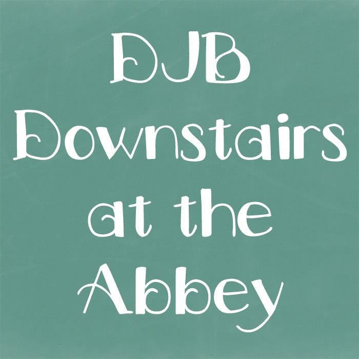 DJB Downstairs at the Abbey font by Darcy Baldwin Fonts