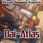 Image for Dai-Atlas font