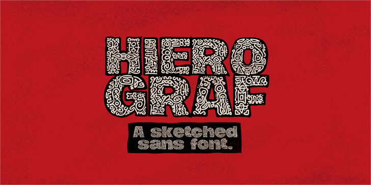 Image for Hierograf PERSONAL USE font
