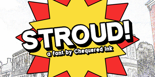 Stroud font by Chequered Ink