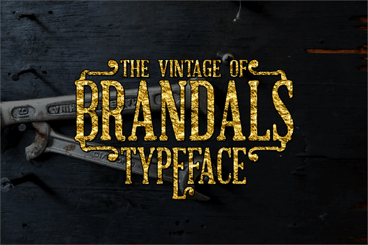 Brandals font by Greataris