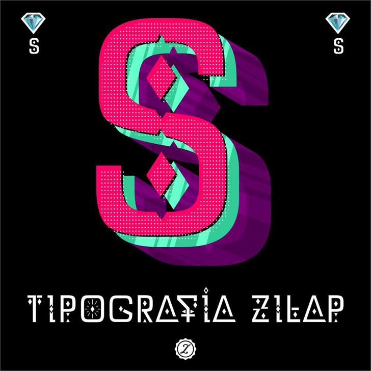 Image for DZ Typography - Zilap font