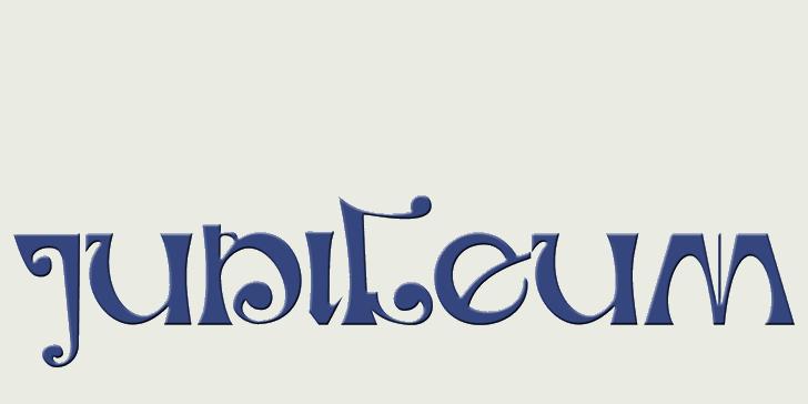 Image for DK Jubileum font