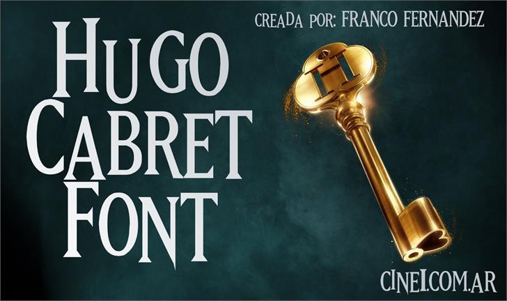 Hugo Cabret font by FZ