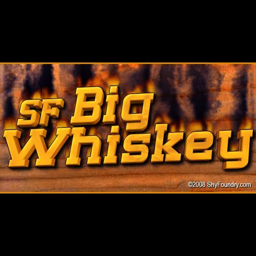 Image for SF Big Whiskey font
