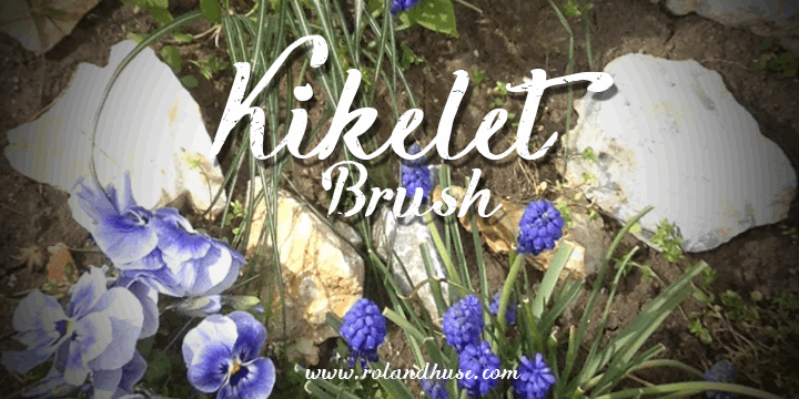 Image for Kikelet Brush font