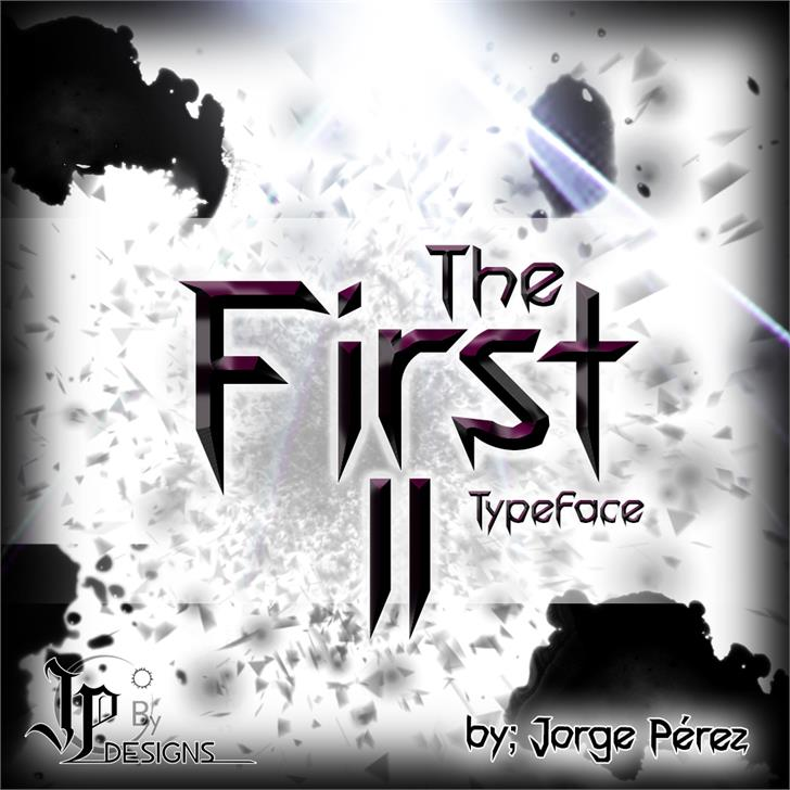 The First II font by LJ Design Studios