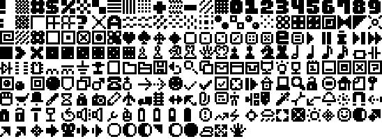 Image for Pixel Dingbats-7 font