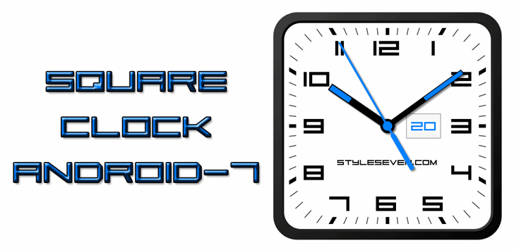 Image for Square Sans Serif 7 font