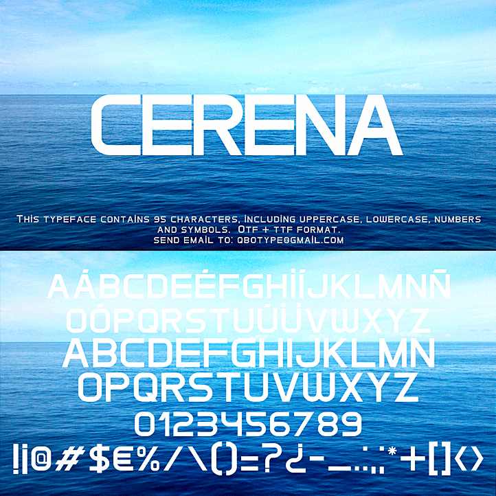 Cerena font by Qbotype Fonts
