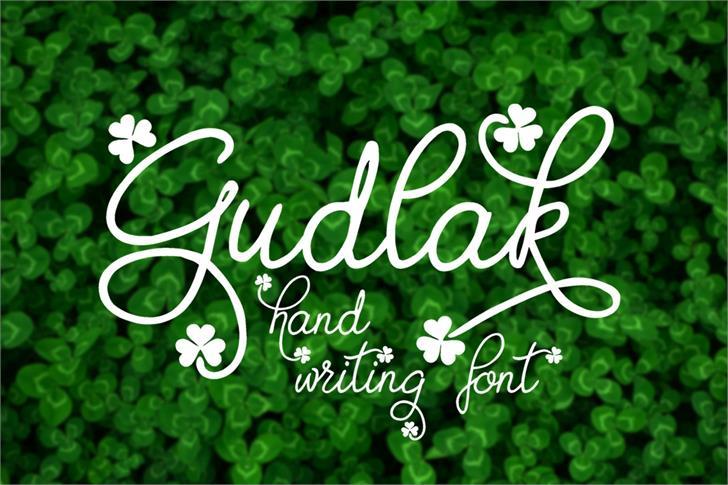 Image for Gudlak font