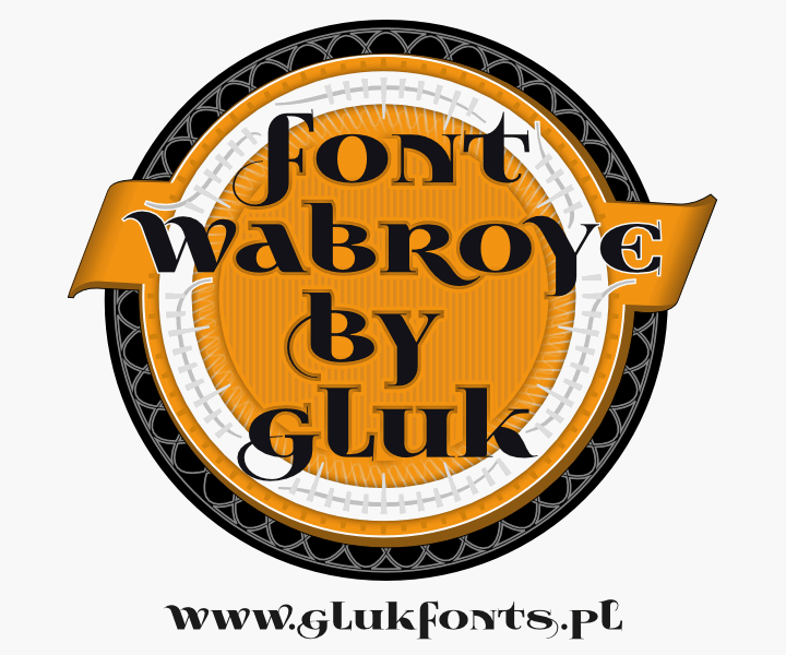 Image for Wabroye font