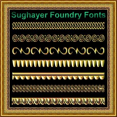Image for Vintage Borders_015 font