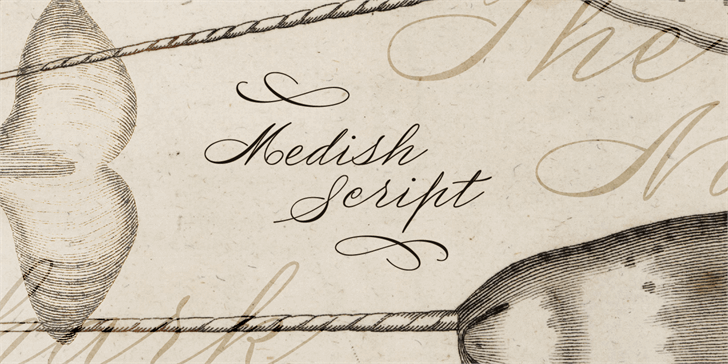 Image for Medish Deco PERSONAL USE ONLY font
