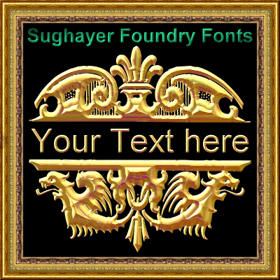 Image for Vintage Elements_09 font
