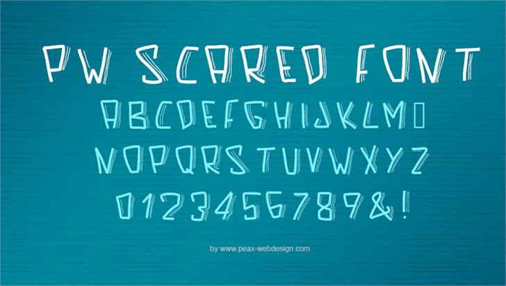 Image for PWScaredFont