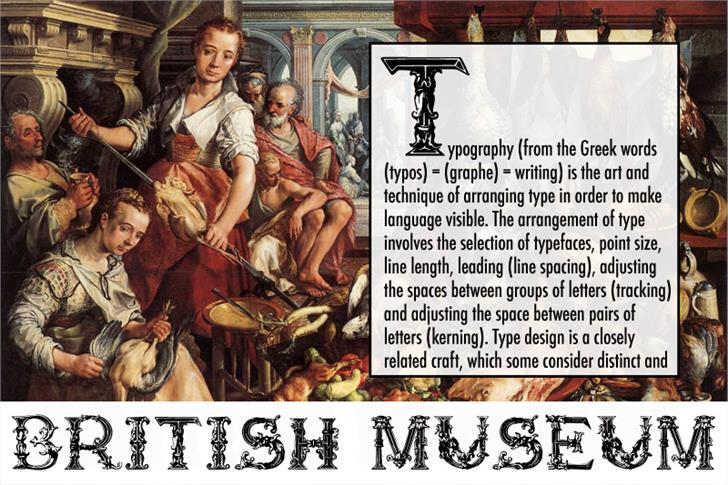 Image for British Museum 1490 font