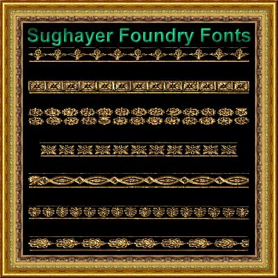 Image for Vintage Borders_011 font