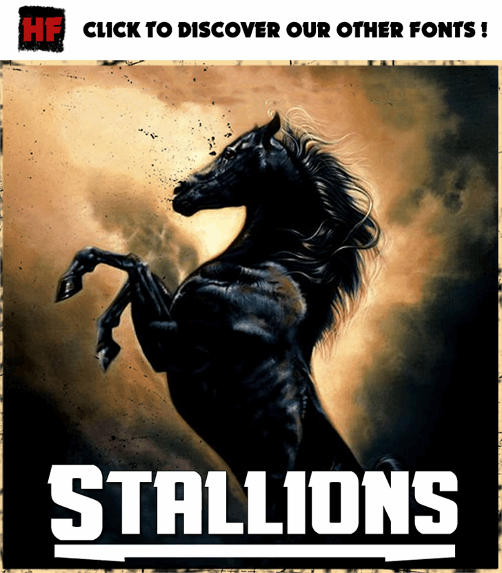 Image for Stallions font