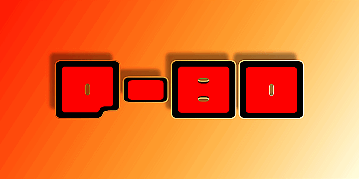 Image for Q-bo font