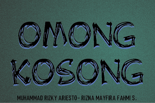 Image for OMONG KOSONG font