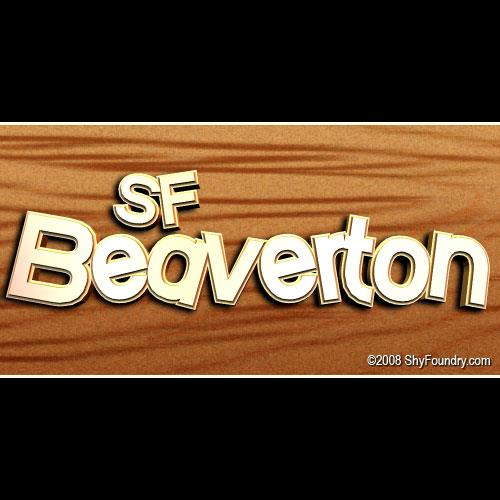 Image for SF Beaverton font