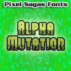 Image for Alpha Mutation font