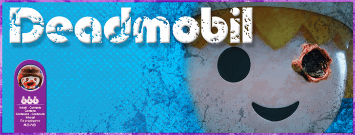 Image for Deadmobil font